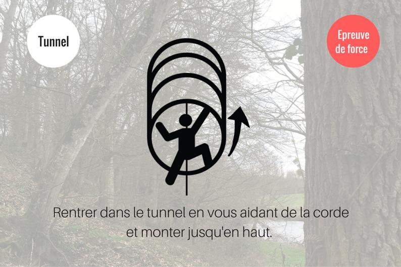 Tunnel Parcours Débranche